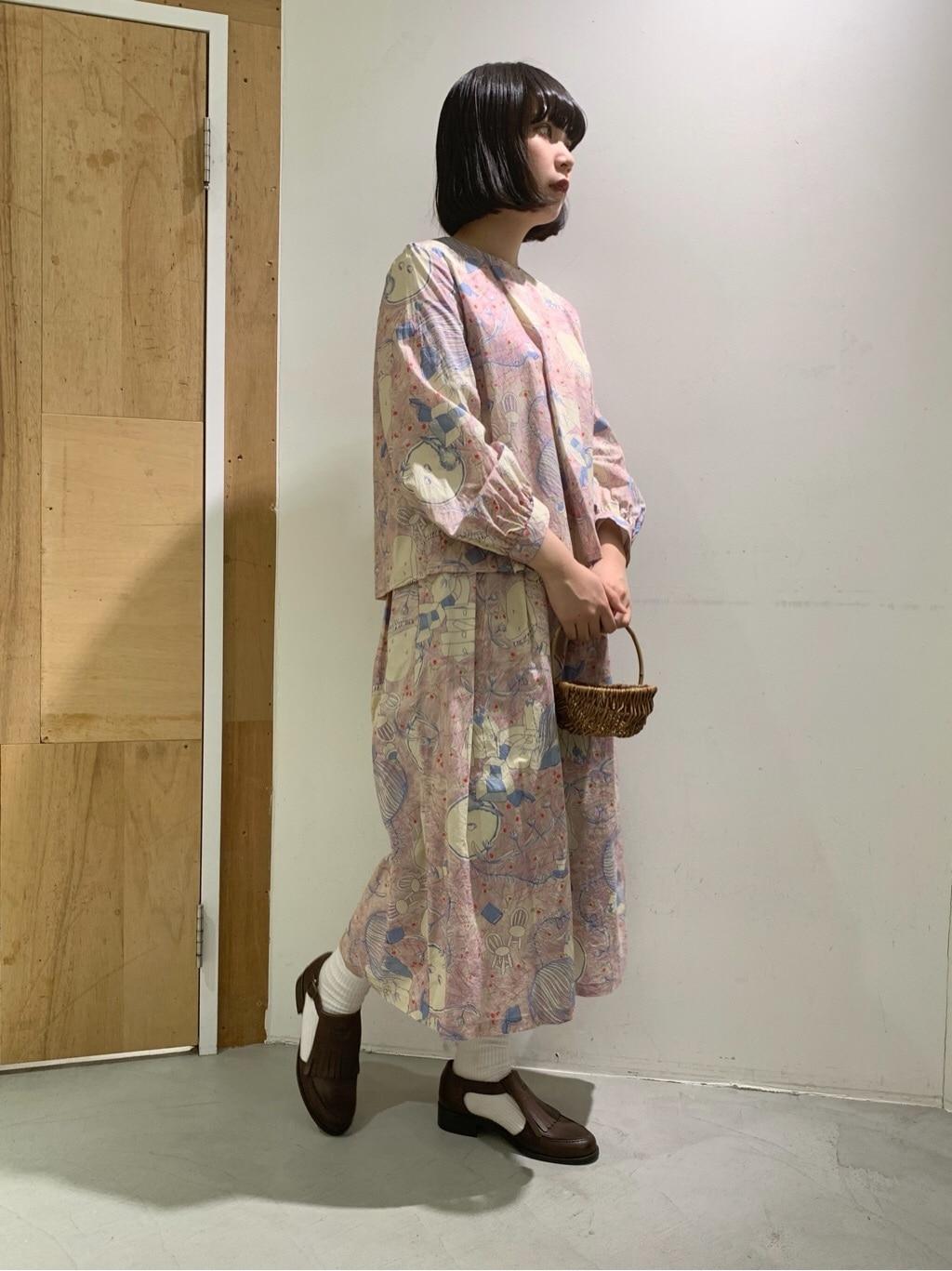 l'atelier du savon 新宿ミロード 身長:159cm 2021.02.08