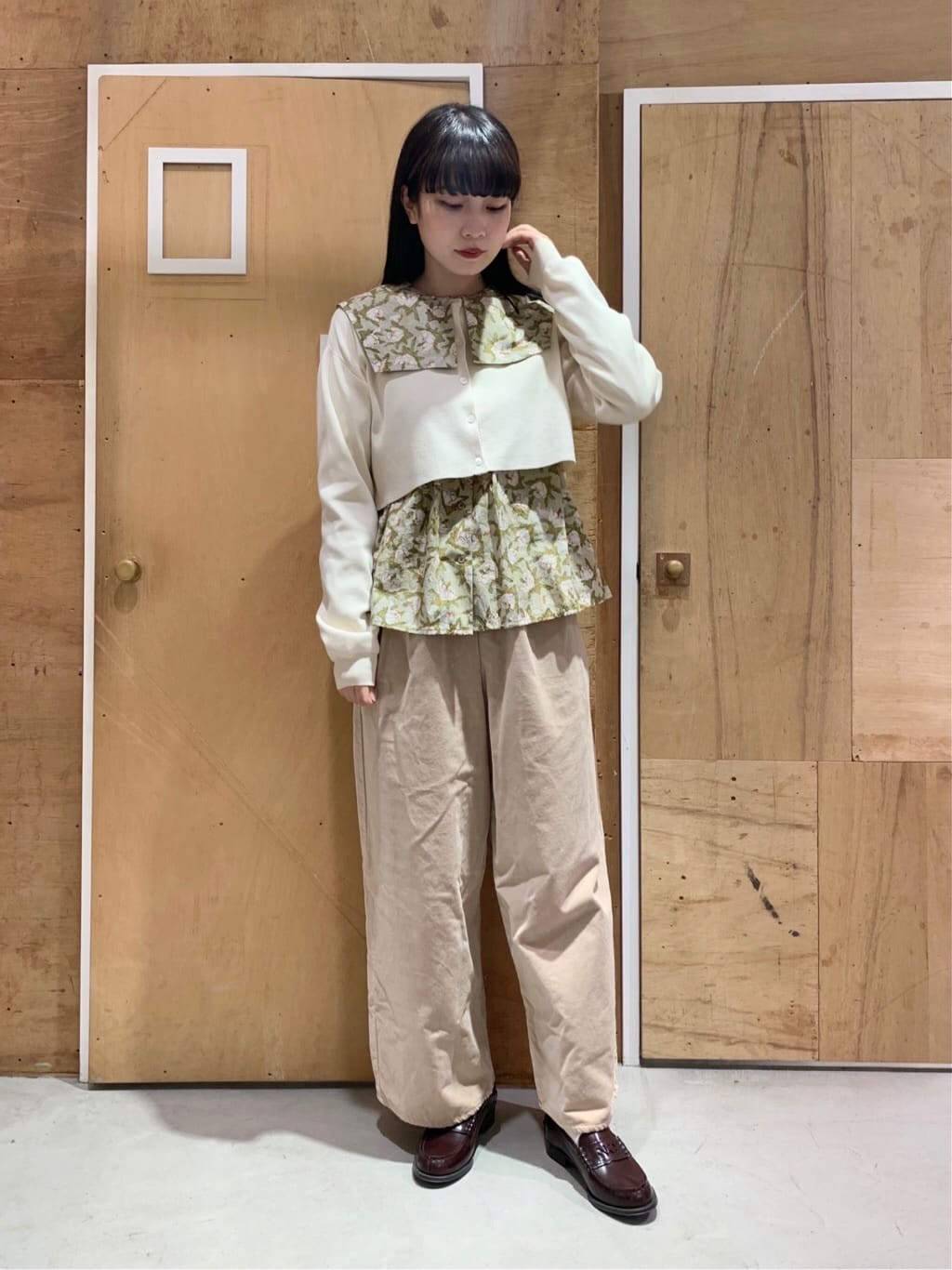 l'atelier du savon 新宿ミロード 身長:159cm 2021.10.23