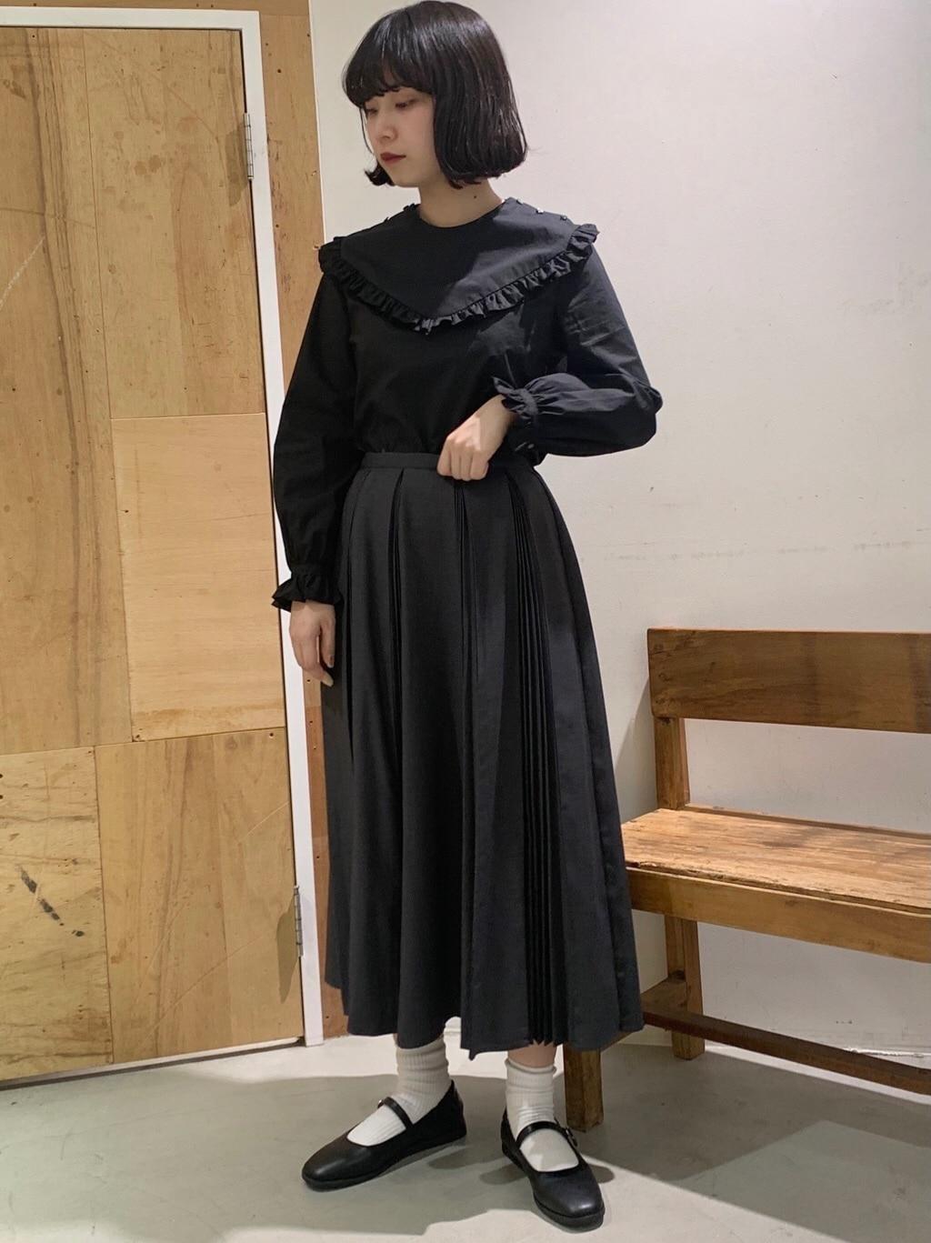 l'atelier du savon 新宿ミロード 身長:159cm 2020.12.15