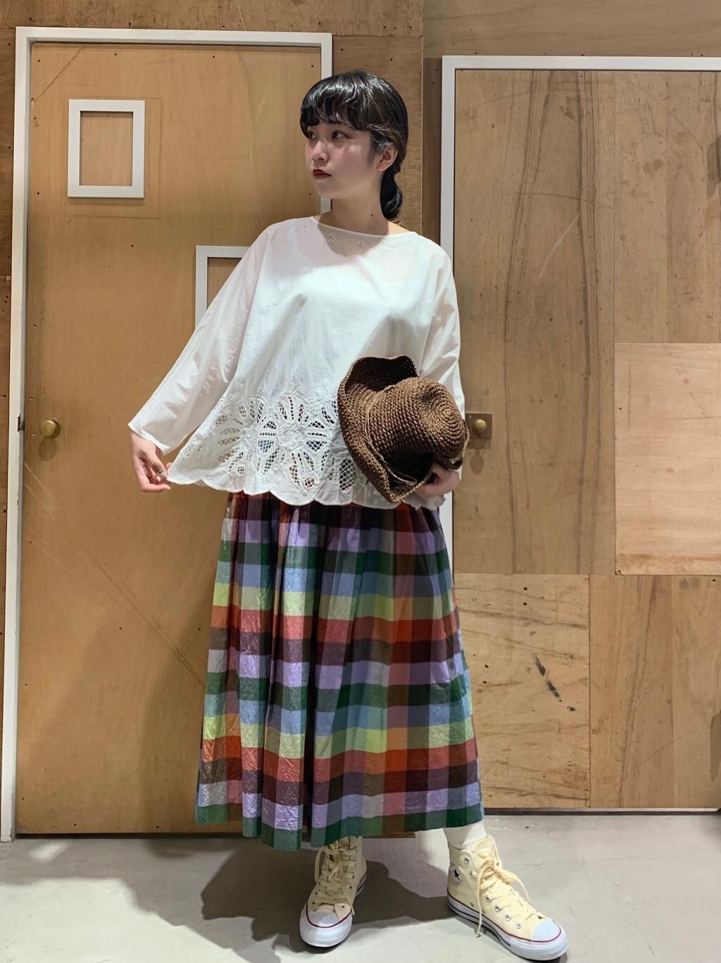 l'atelier du savon 新宿ミロード 身長:159cm 2020.07.20