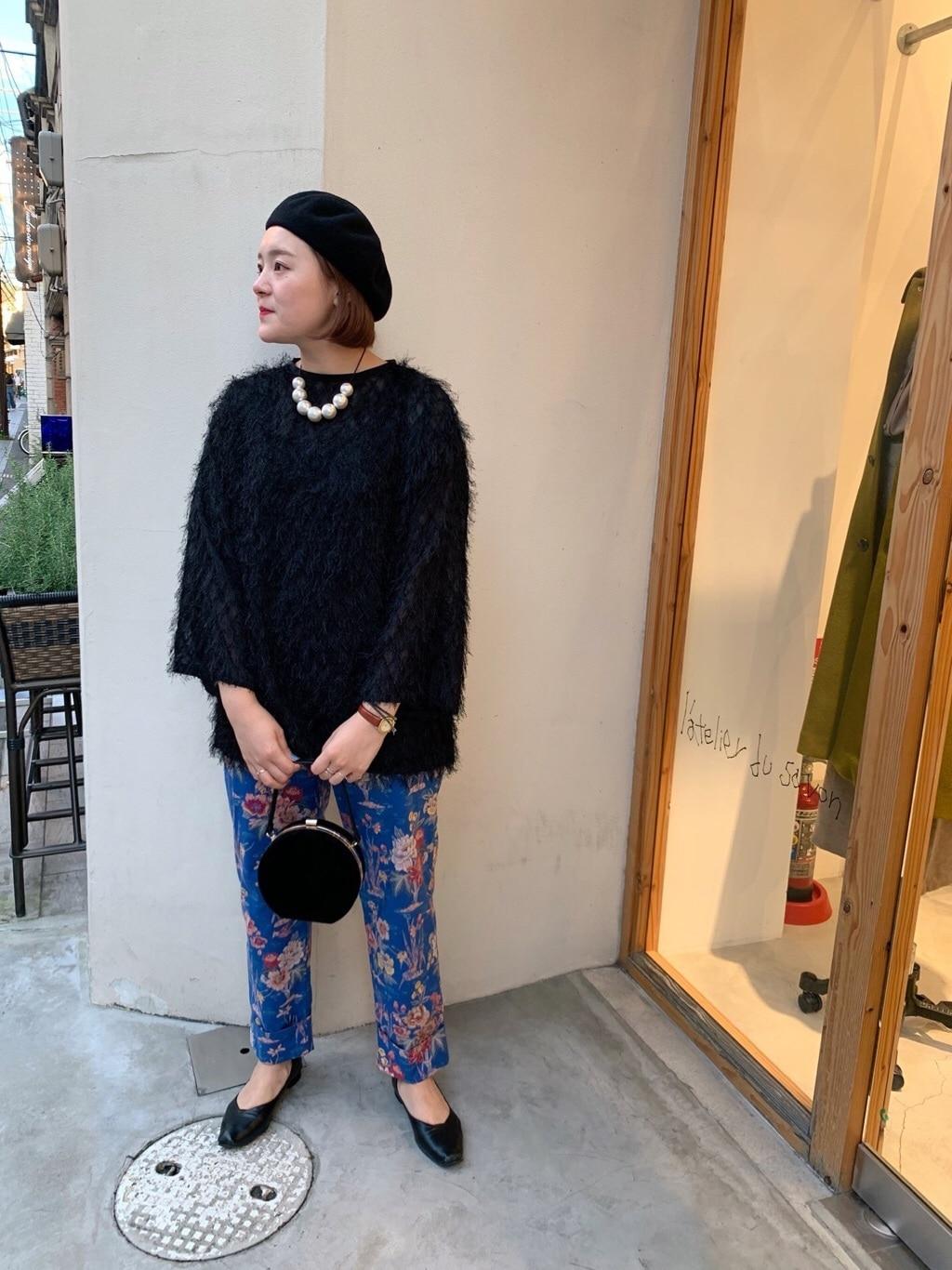 l'atelier du savon 京都路面 身長:166cm 2019.10.15