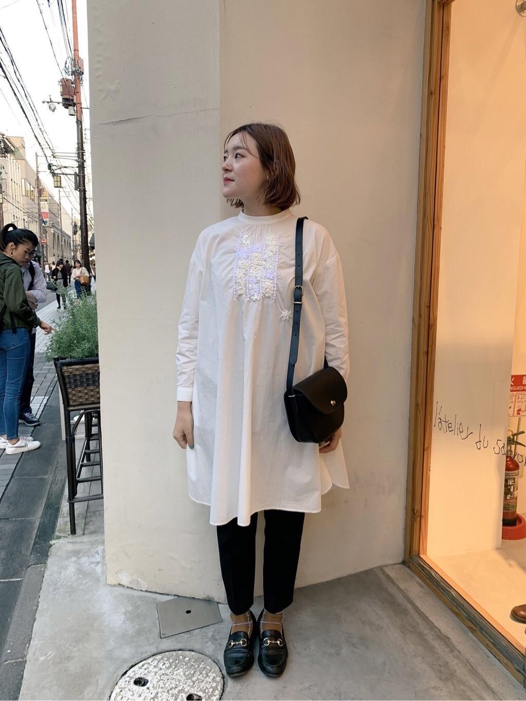 l'atelier du savon 京都路面 身長:166cm 2019.11.08