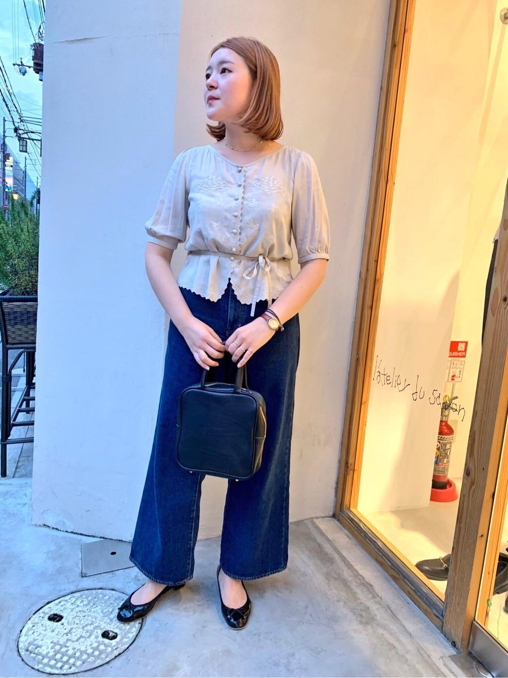 l'atelier du savon 京都路面 身長:166cm 2019.09.06