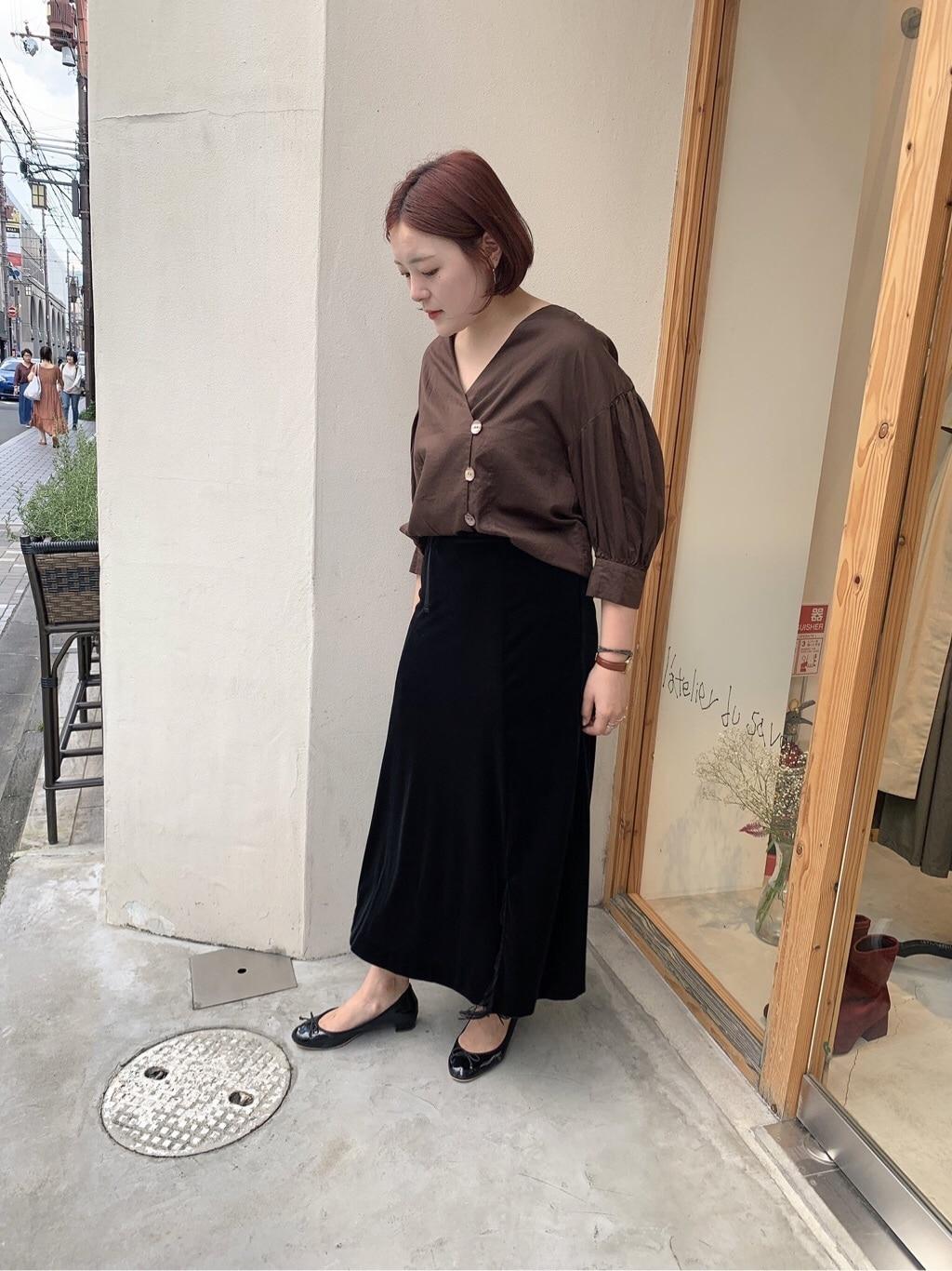 l'atelier du savon 京都路面 身長:166cm 2019.09.21