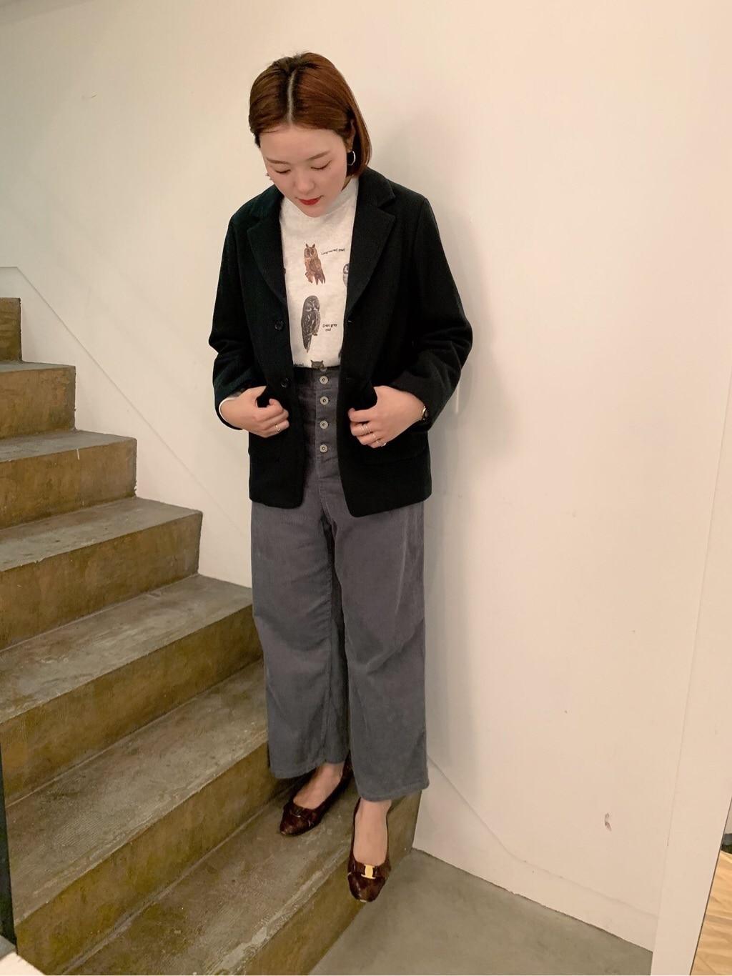 l'atelier du savon 京都路面 身長:166cm 2019.10.01