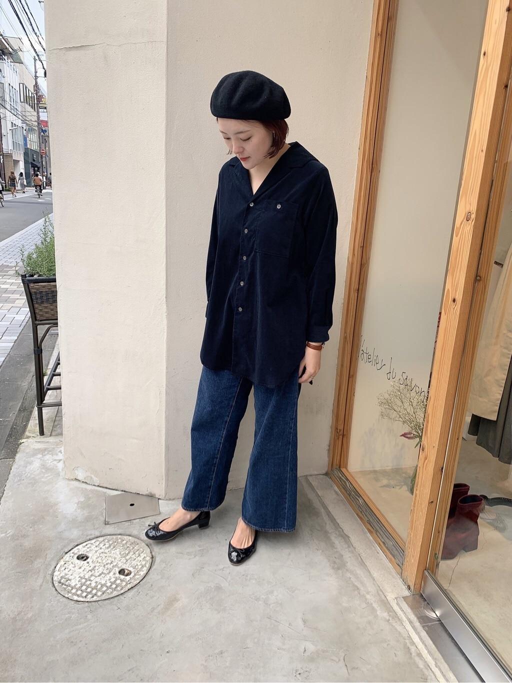l'atelier du savon 京都路面 身長:166cm 2019.09.18