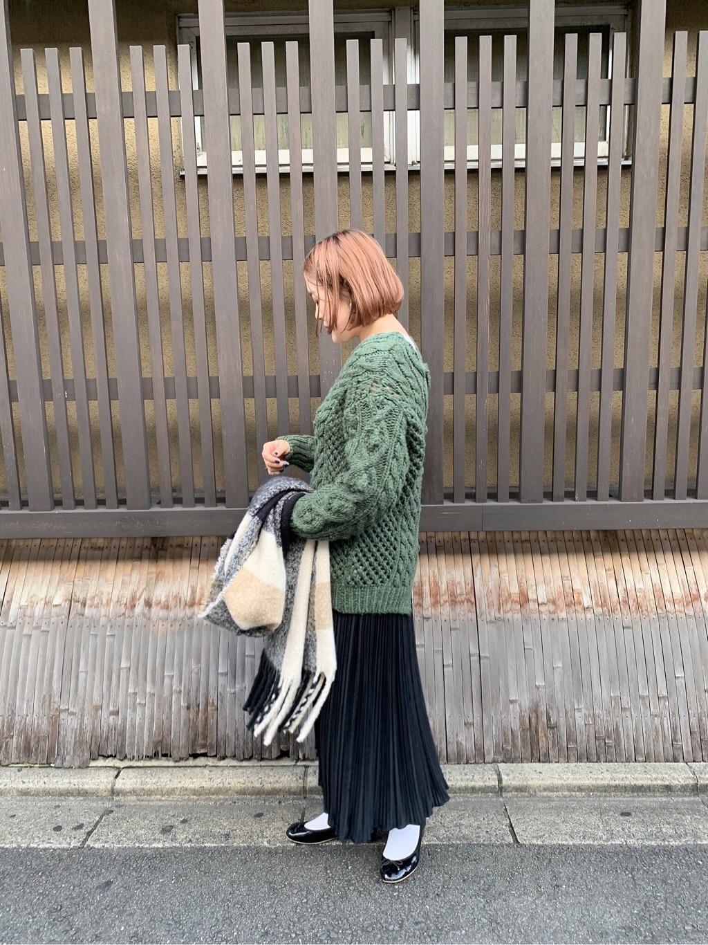 l'atelier du savon 京都路面 身長:166cm 2019.11.21