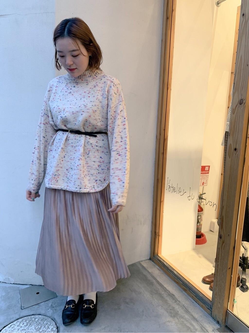 l'atelier du savon 京都路面 身長:166cm 2019.11.07