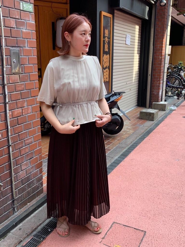 l'atelier du savon 京都路面 身長:166cm 2019.08.18