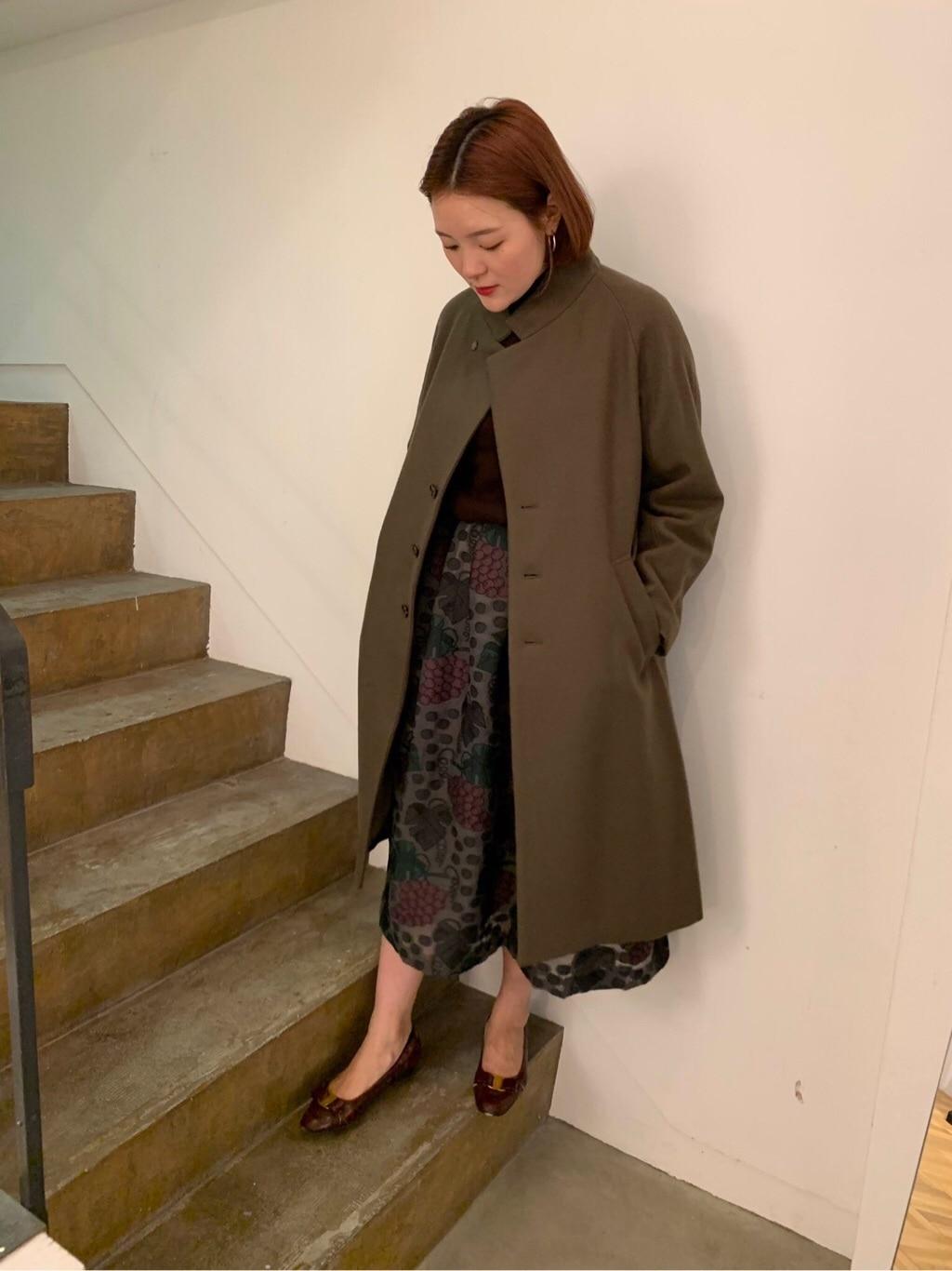 l'atelier du savon 京都路面 身長:166cm 2019.09.27