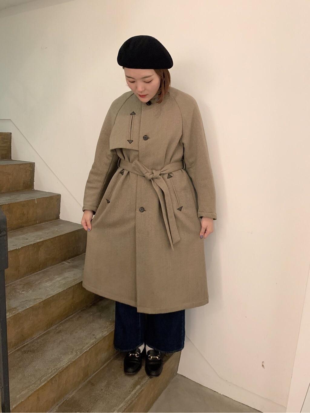 l'atelier du savon 京都路面 身長:166cm 2019.11.20