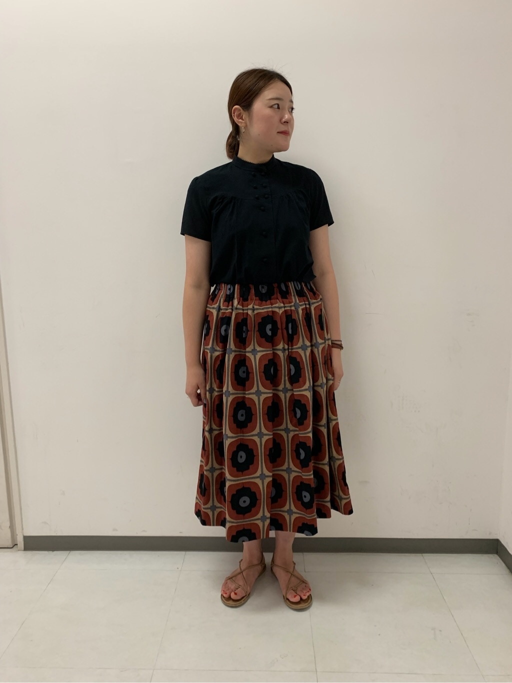 l'atelier du savon 京都路面 身長:166cm 2019.08.22