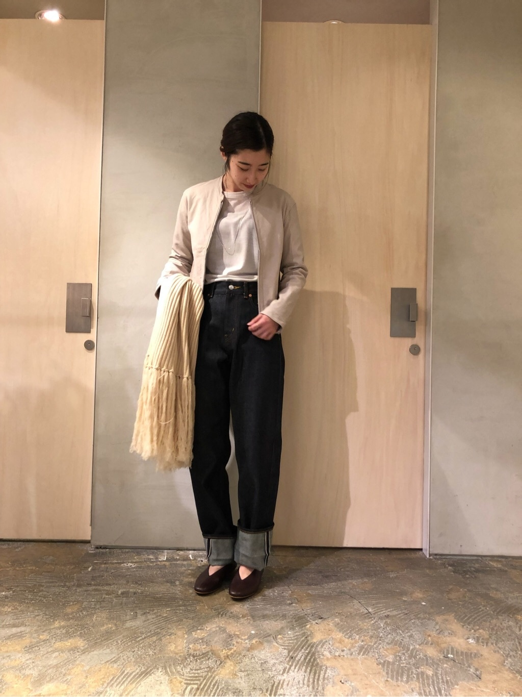 note et silence. ルミネ新宿 身長:164cm 2019.12.05
