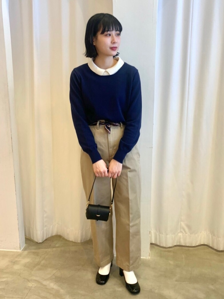 Dot and Stripes CHILD WOMAN ラフォーレ原宿 身長:158cm 2021.02.03