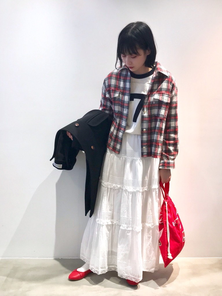 Dot and Stripes CHILD WOMAN ラフォーレ原宿 身長:158cm 2021.01.03