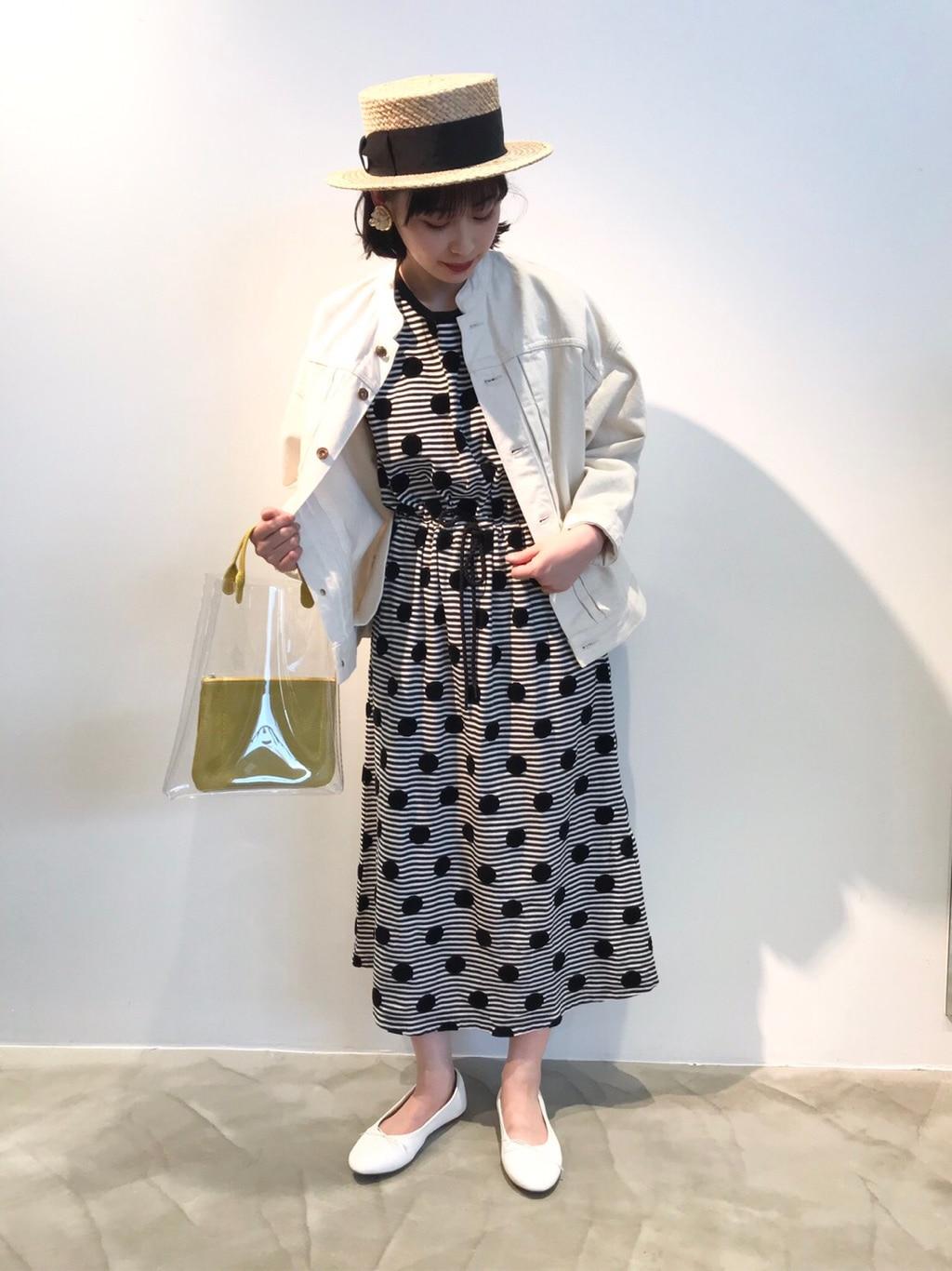 yuni / bulle de savon ラフォーレ原宿 身長:157cm 2020.04.17