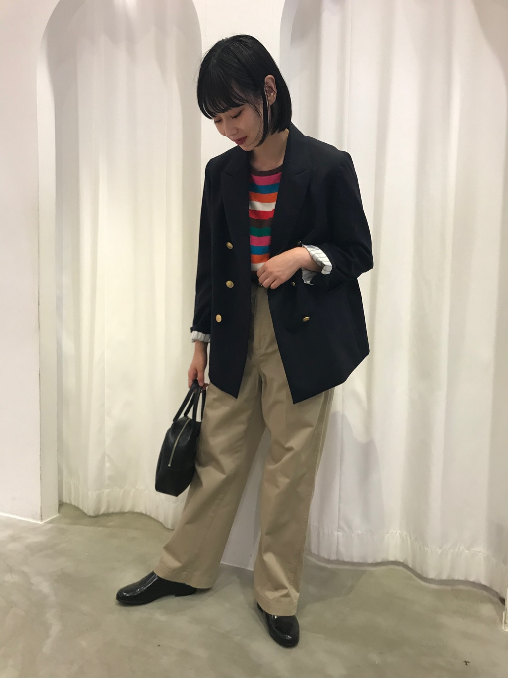 Dot and Stripes CHILD WOMAN ラフォーレ原宿 身長:158cm 2020.08.04