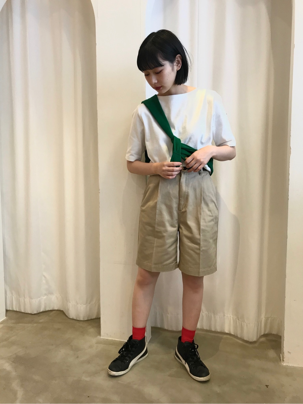 Dot and Stripes CHILD WOMAN ラフォーレ原宿 身長:157cm 2020.07.17
