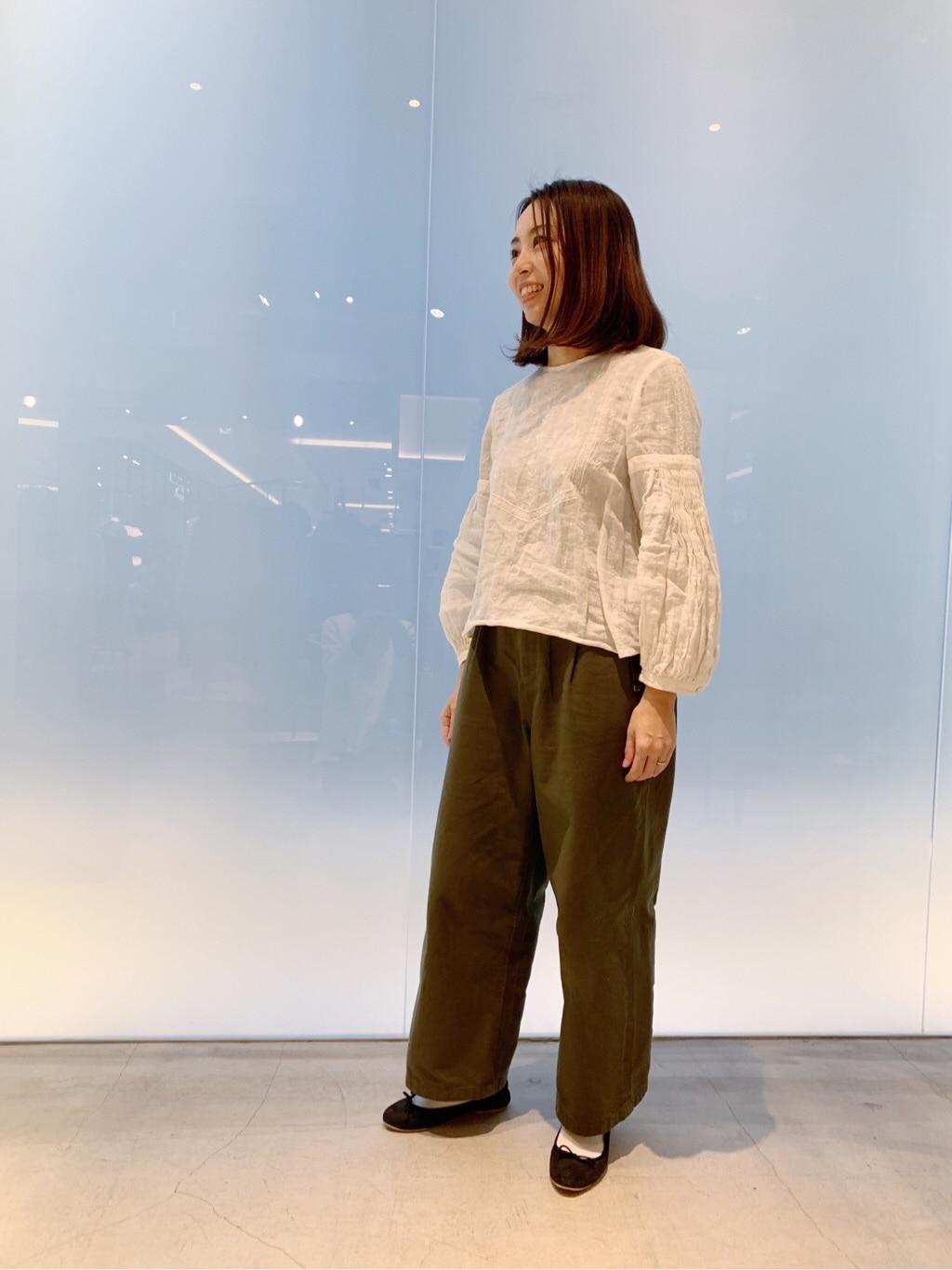 note et silence. 日本橋��島屋S.C. 身長:160cm 2019.12.05