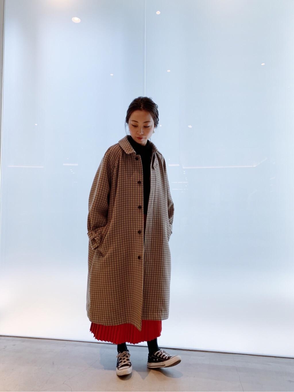 note et silence. 日本橋��島屋S.C. 身長:160cm 2020.01.09