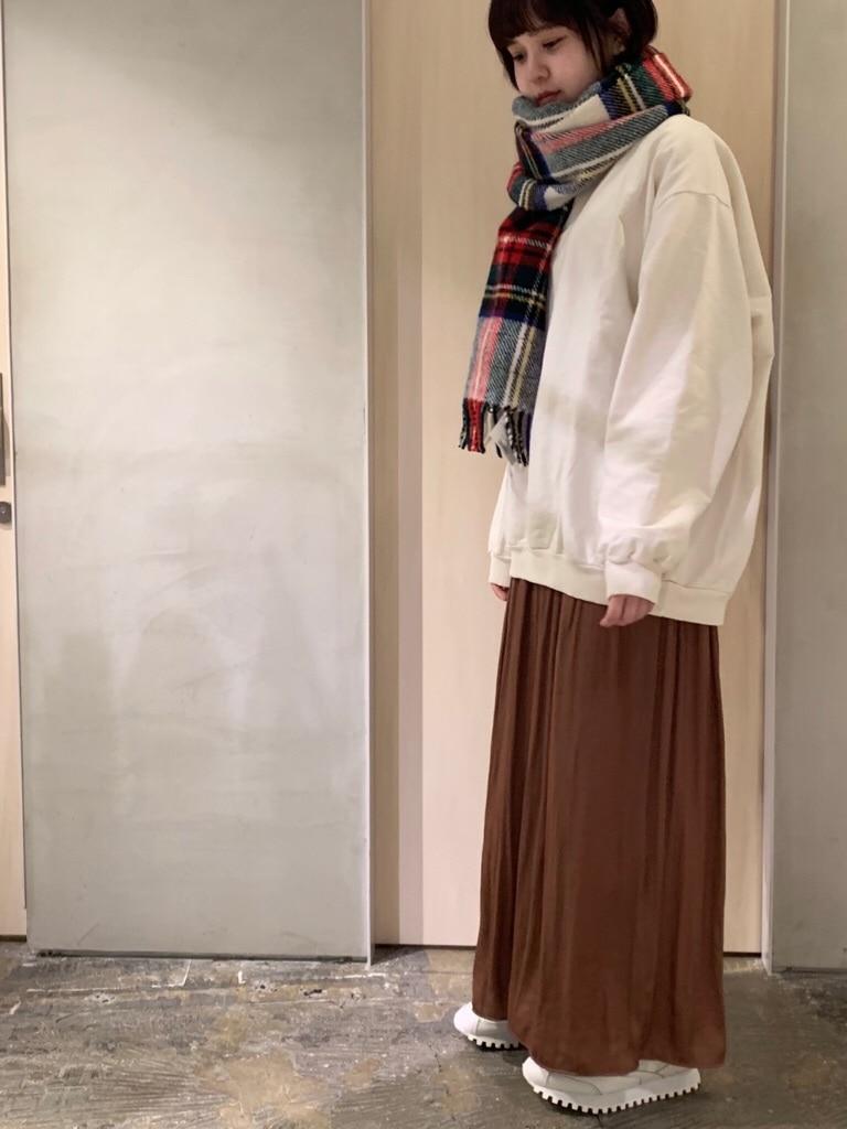 note et silence. ルミネ新宿 身長:160cm 2019.12.01