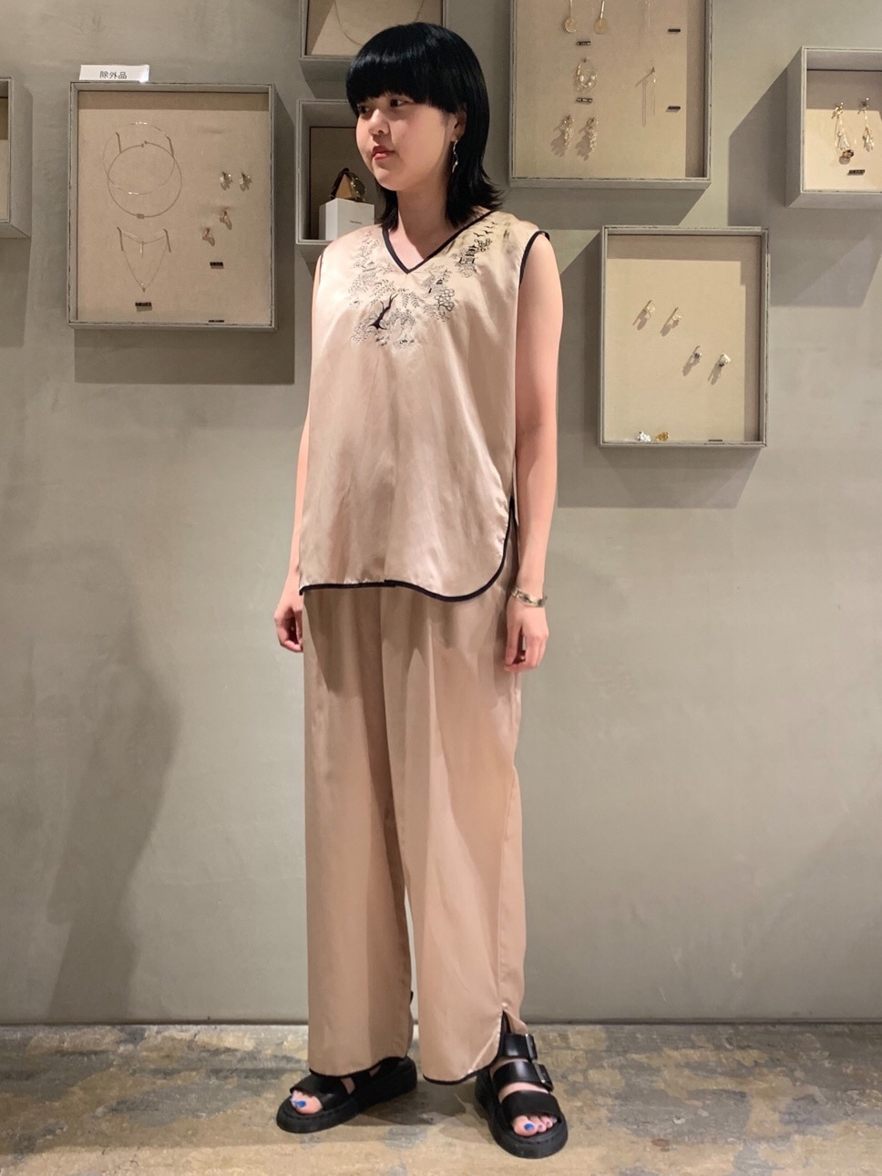 note et silence. ルミネ新宿 身長:160cm 2020.07.10