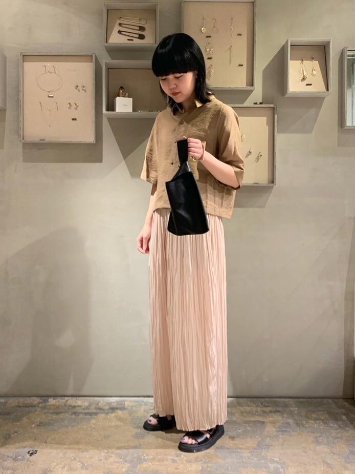 note et silence. ルミネ新宿 身長:160cm 2020.07.21