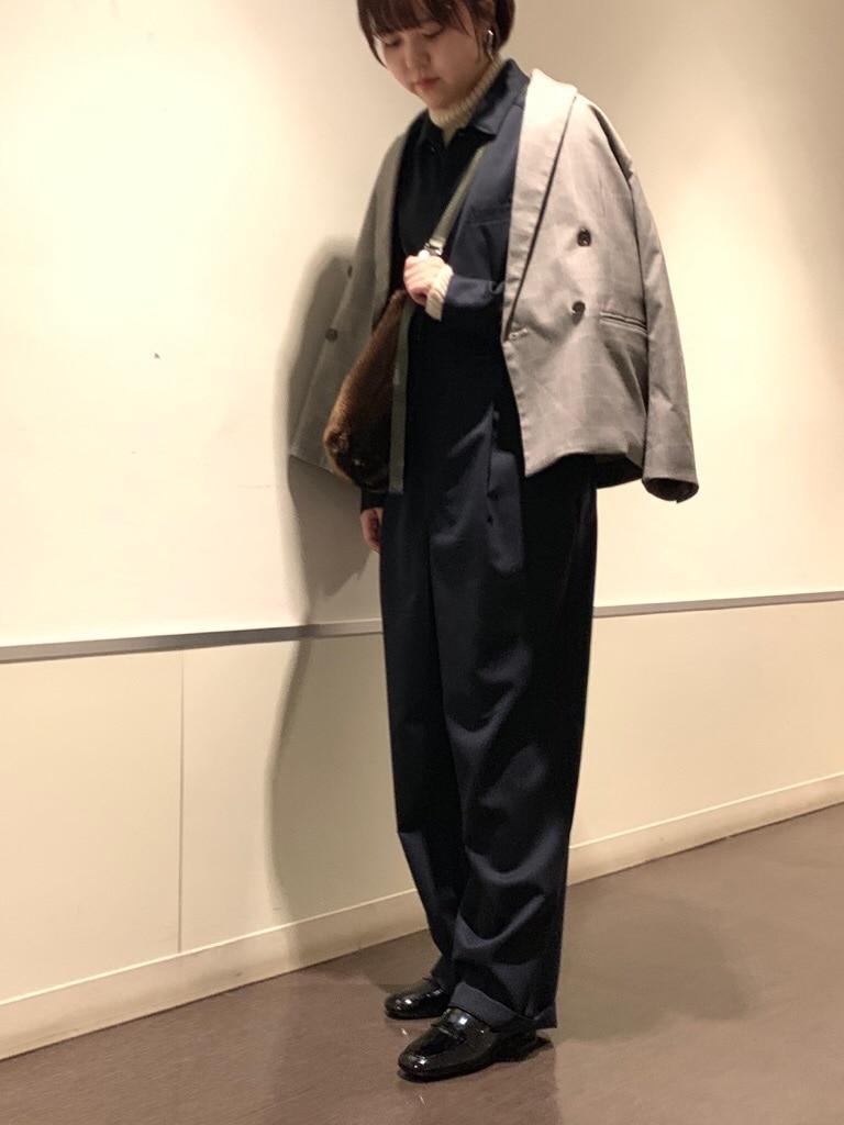 note et silence. ルミネ新宿 身長:160cm 2019.11.27
