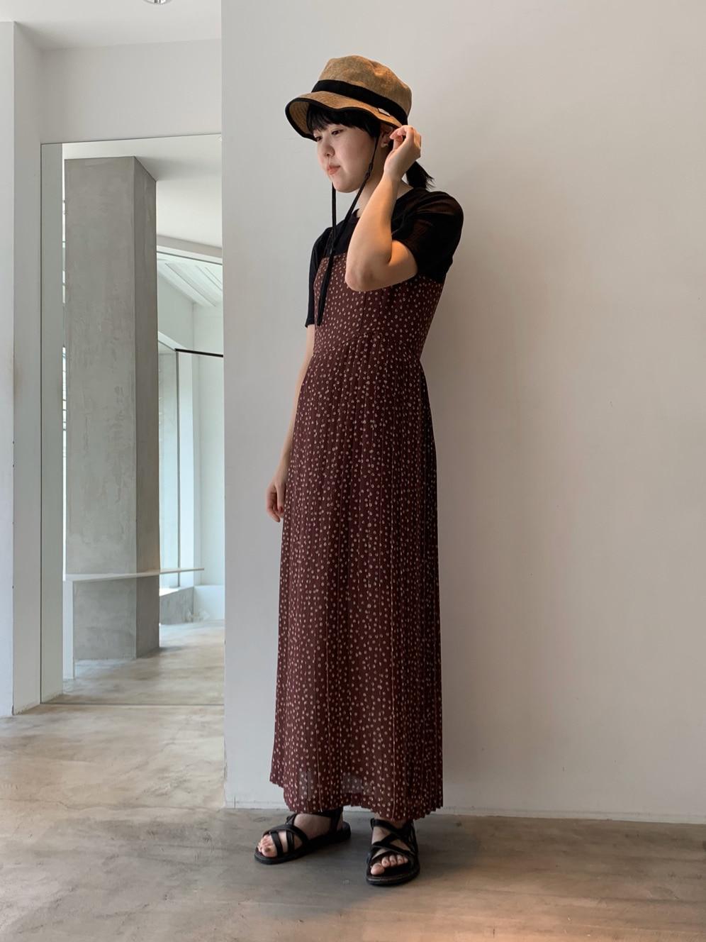 note et silence. ルミネ新宿 身長:160cm 2020.08.26