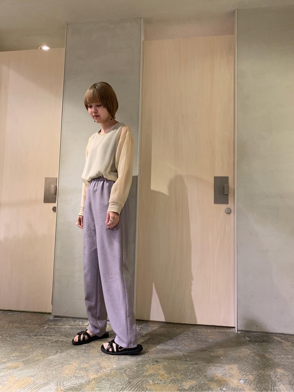 note et silence. ルミネ新宿 身長:160cm 2019.07.18