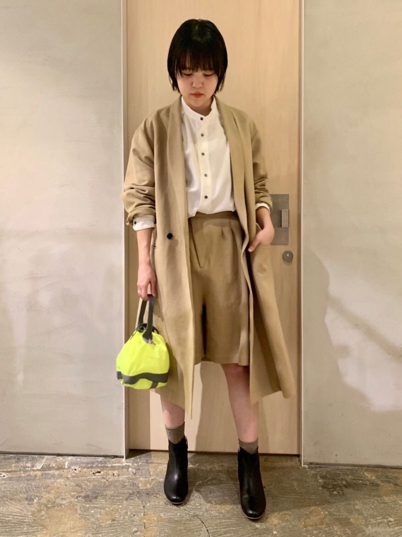 note et silence. ルミネ新宿 身長:160cm 2020.02.01