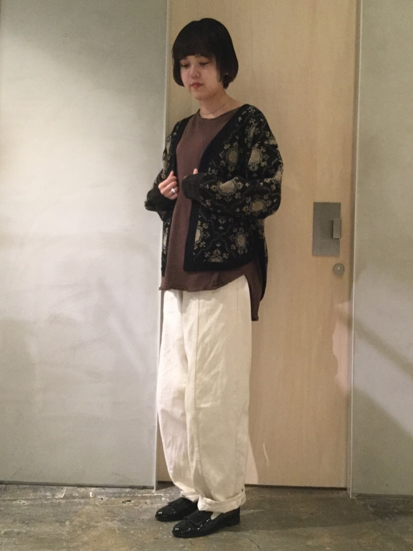 note et silence. ルミネ新宿 身長:160cm 2019.11.07