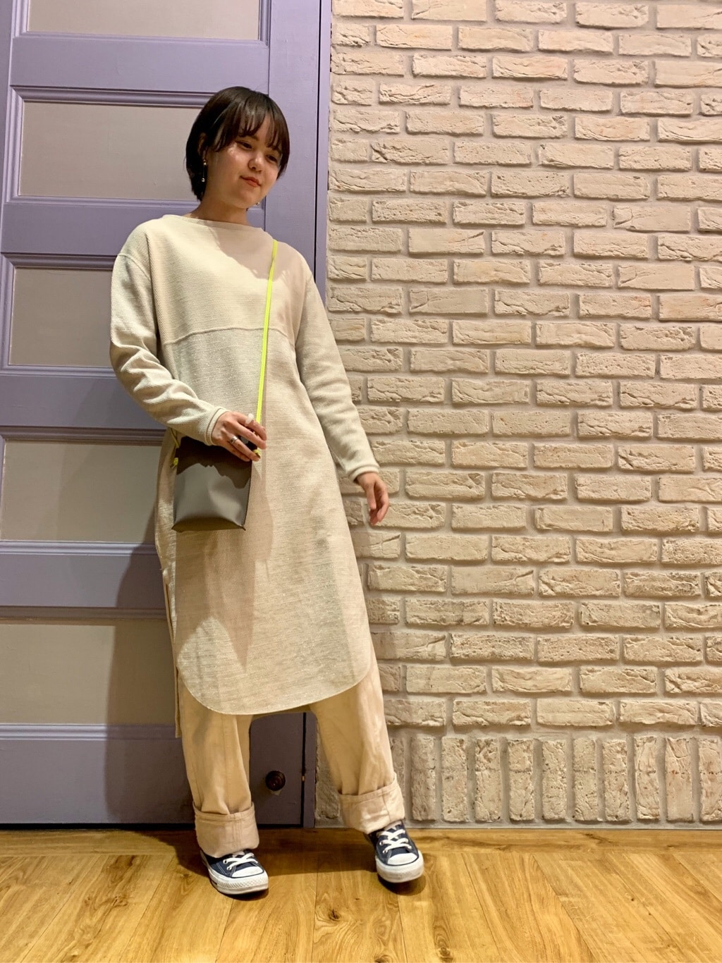 note et silence. ルミネ新宿 身長:160cm 2020.01.06