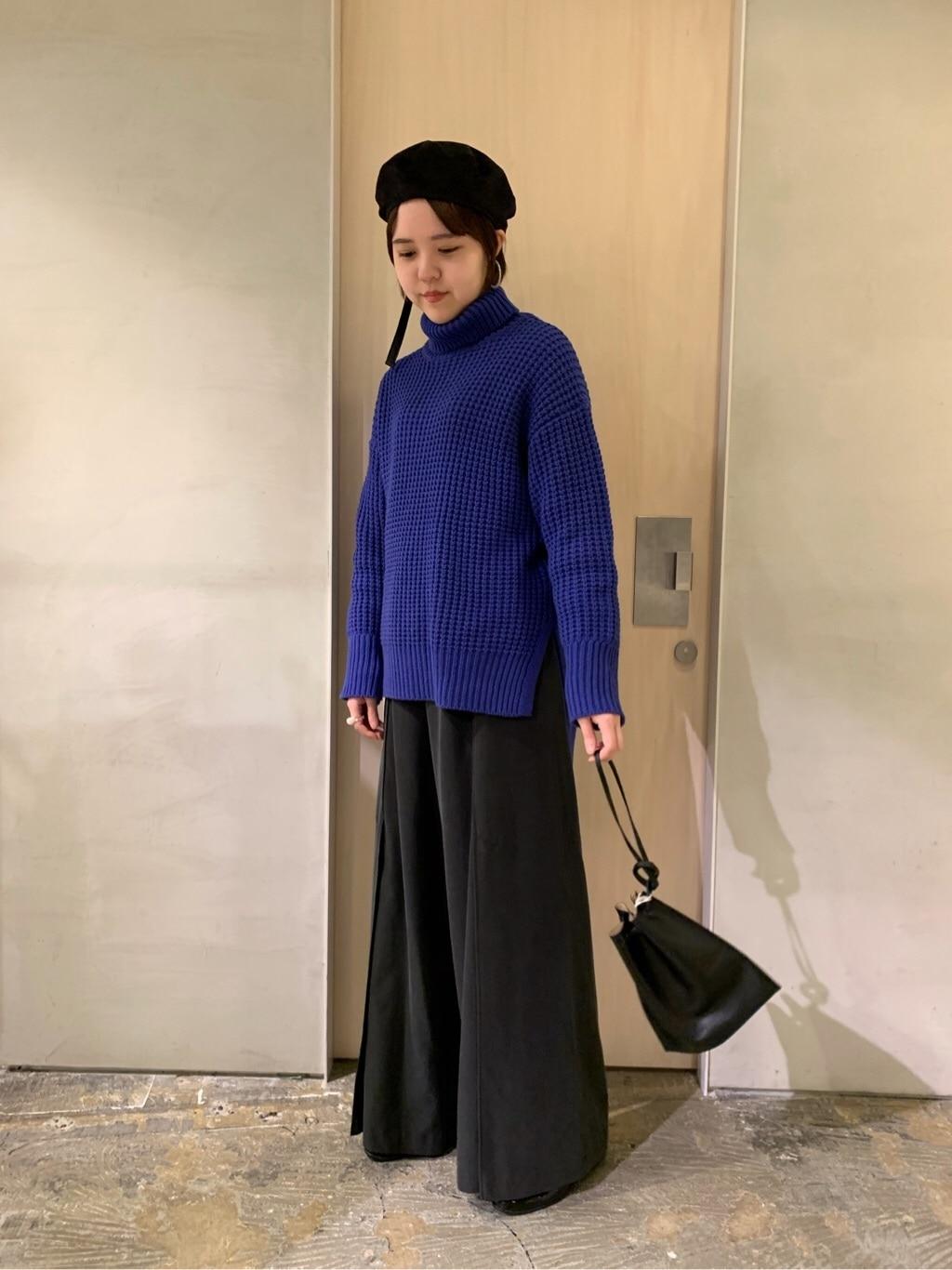 note et silence. ルミネ新宿 身長:160cm 2019.11.30