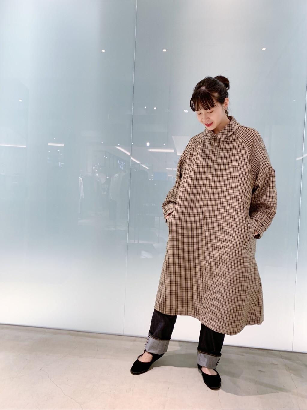 note et silence. 日本橋��島屋S.C. 身長:162cm 2019.09.15