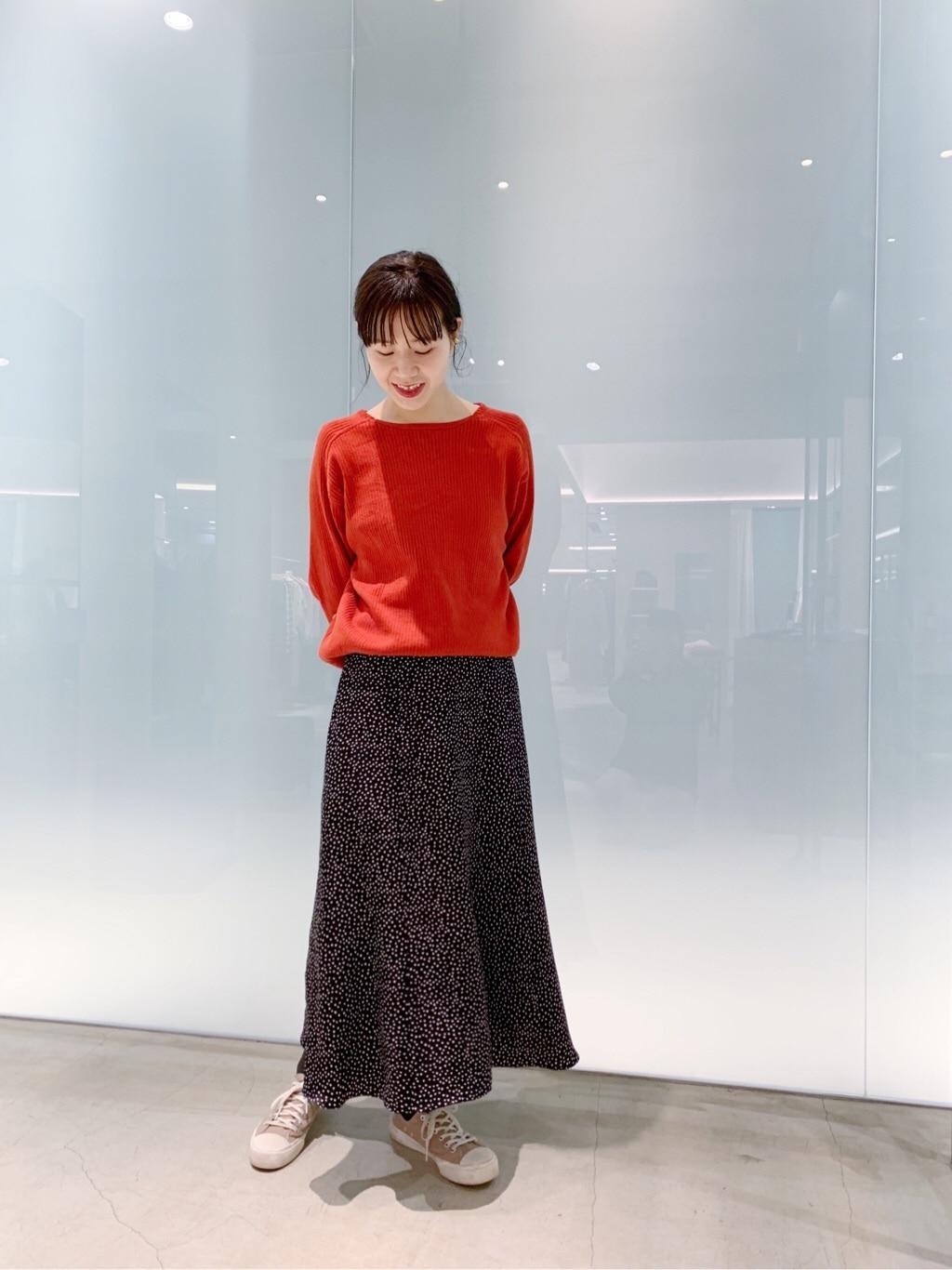 note et silence. 日本橋��島屋S.C. 身長:162cm 2019.12.08