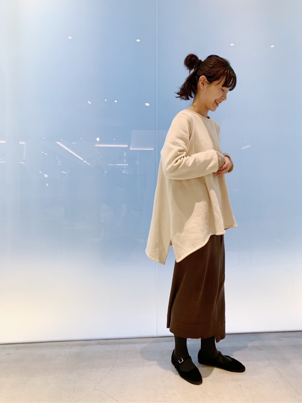 note et silence. 日本橋��島屋S.C. 身長:162cm 2019.12.02