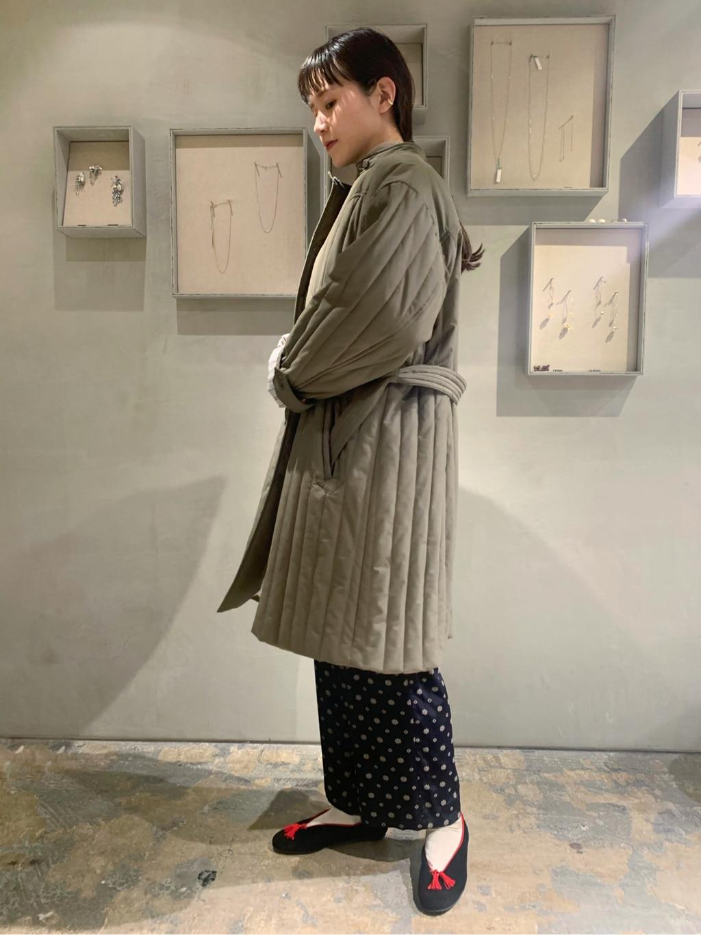 note et silence. ルミネ新宿 身長:162cm 2020.11.11