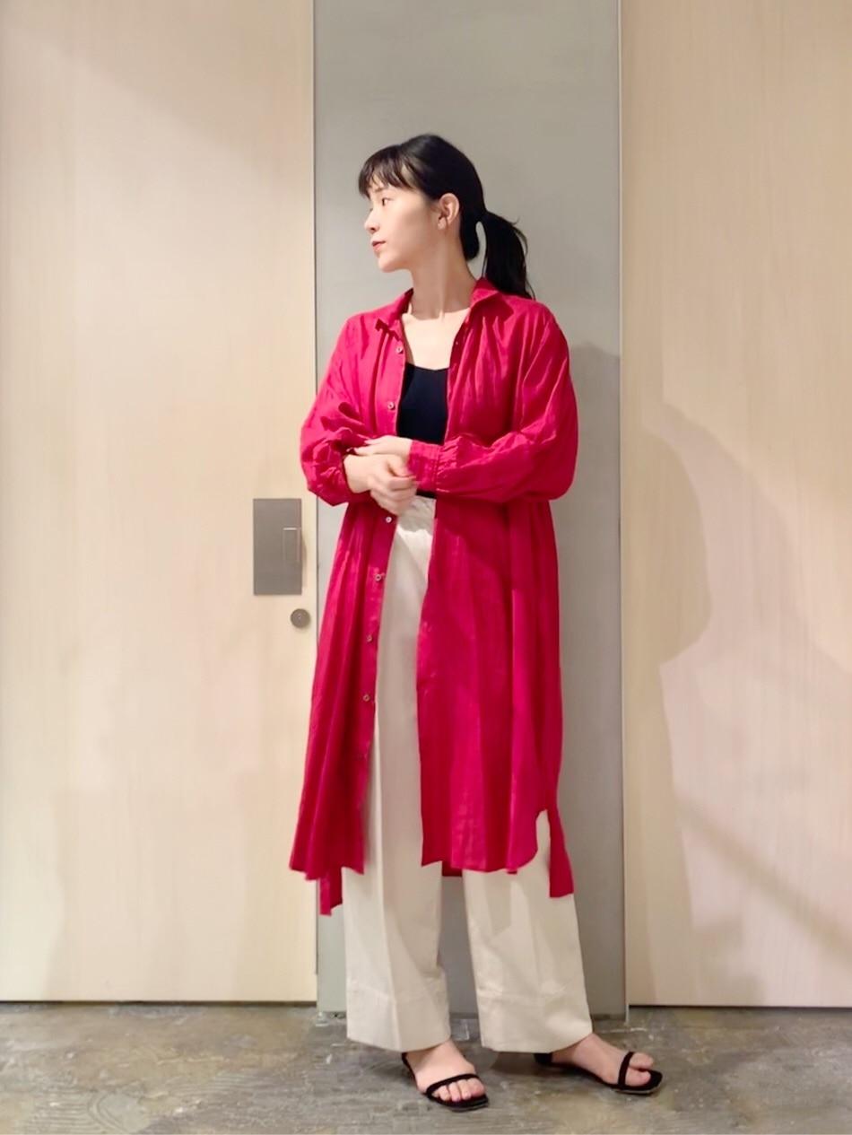 note et silence. ルミネ新宿 身長:162cm 2020.07.20