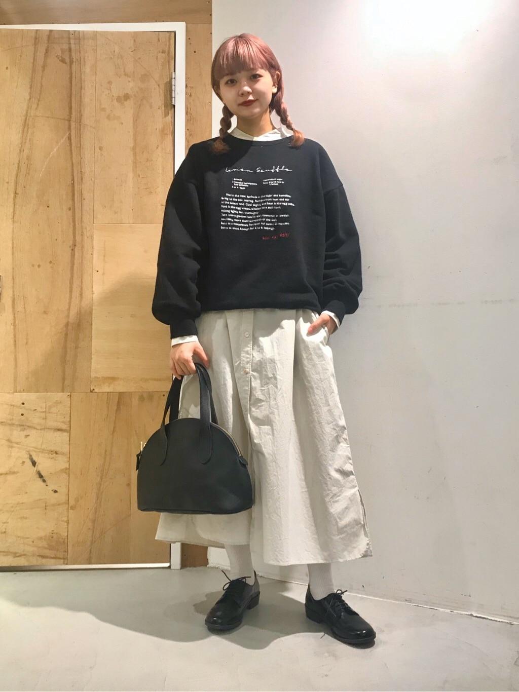 l'atelier du savon 新宿ミロード 身長:154cm 2020.12.22