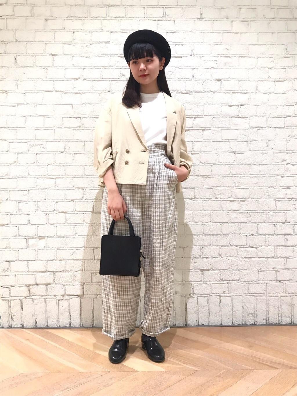 l'atelier du savon 東京スカイツリータウン・ソラマチ 身長:154cm 2020.04.17