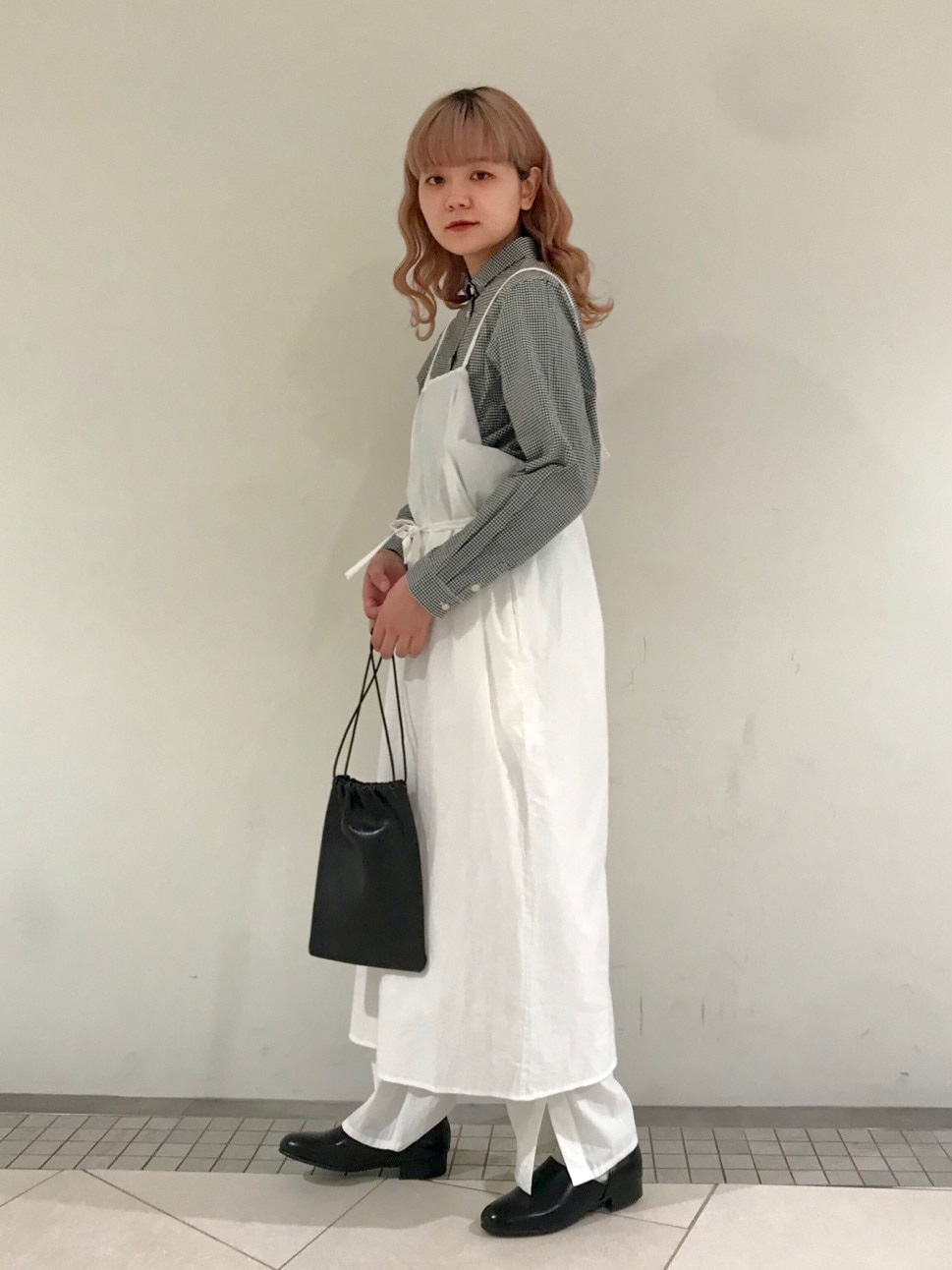 l'atelier du savon 新宿ミロード 身長:154cm 2021.01.25