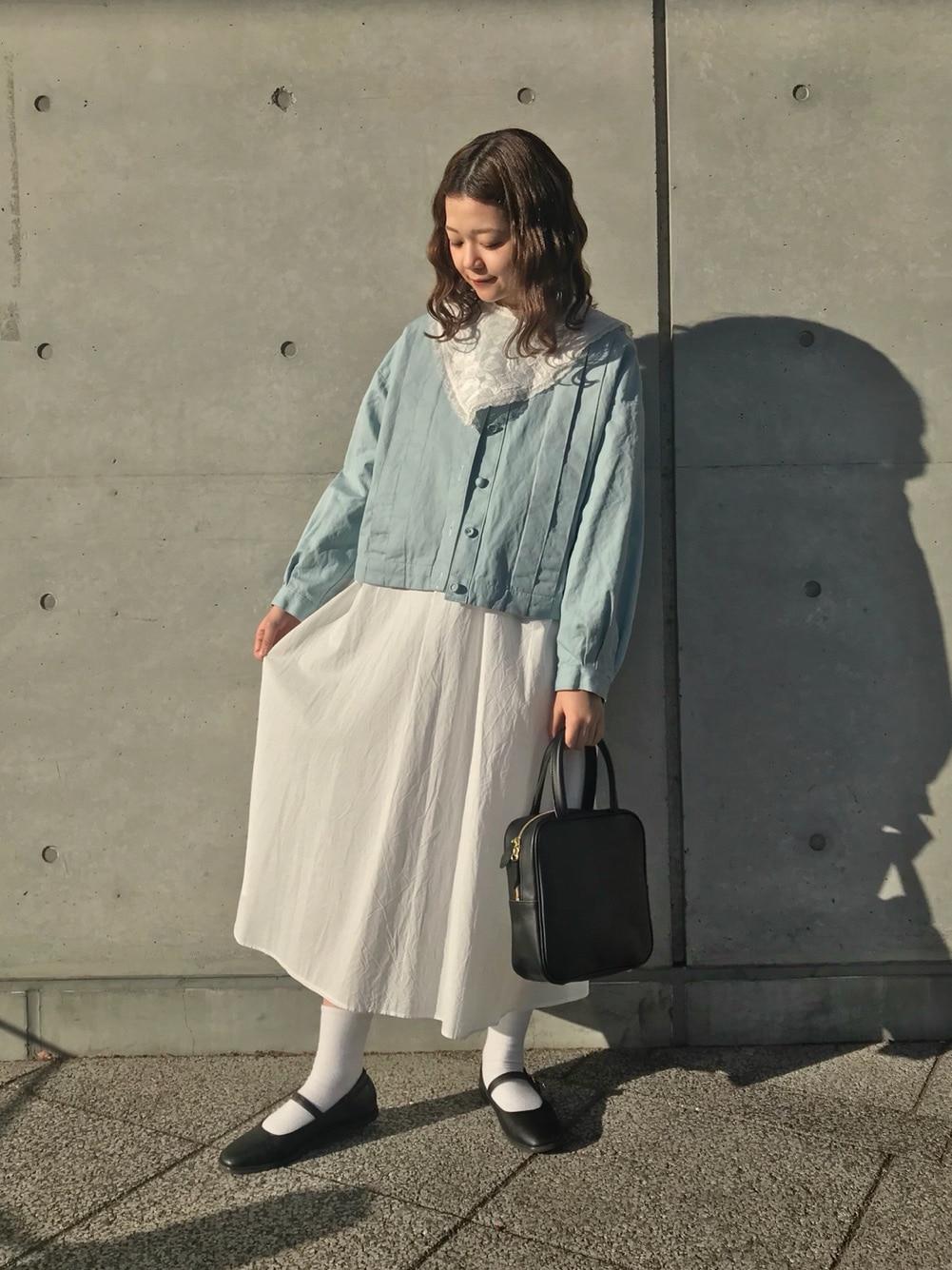 l'atelier du savon 新宿ミロード 身長:154cm 2021.02.08