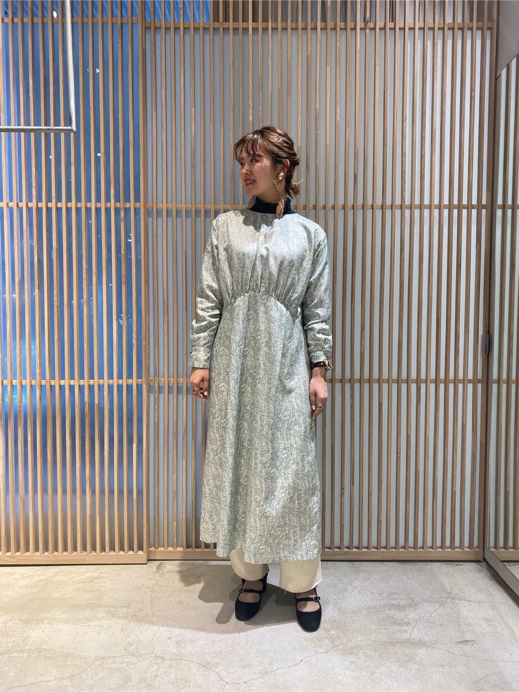 note et silence. 京都路面 身長:162cm 2019.12.12