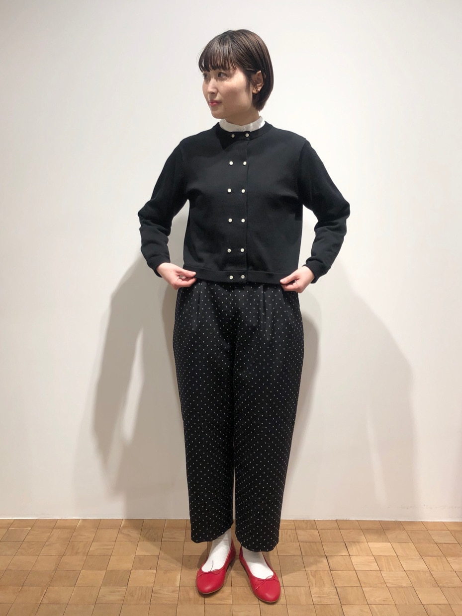 Dot and Stripes CHILD WOMAN ルクアイーレ 身長:165cm 2021.02.04