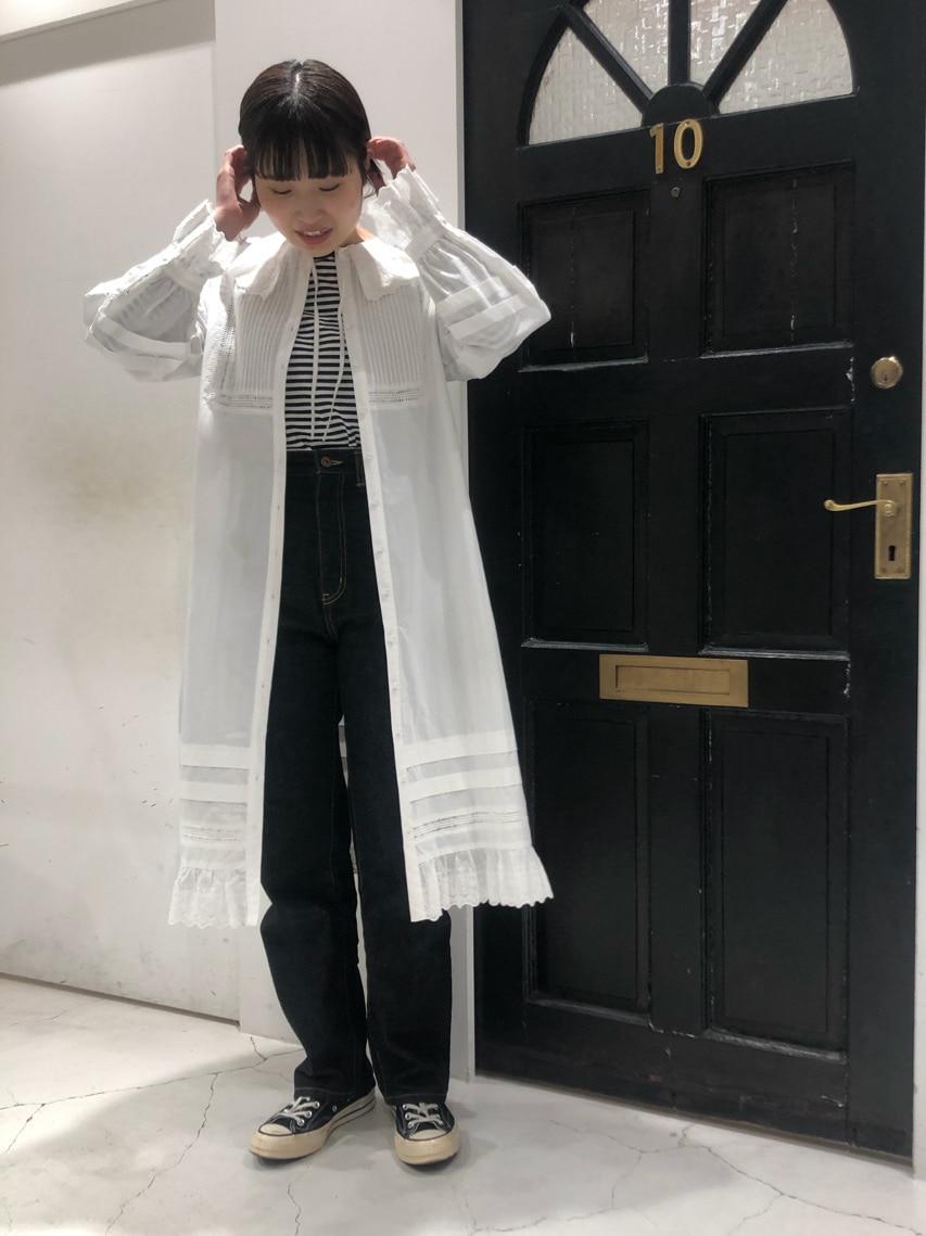 Dot and Stripes CHILD WOMAN ルクアイーレ 身長:165cm 2021.01.18