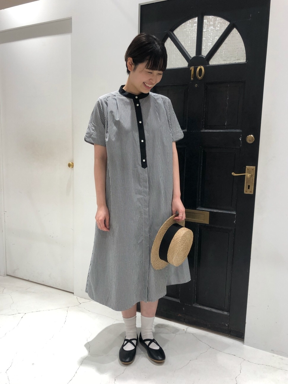 Dot and Stripes CHILD WOMAN ルクアイーレ 身長:165cm 2020.04.07