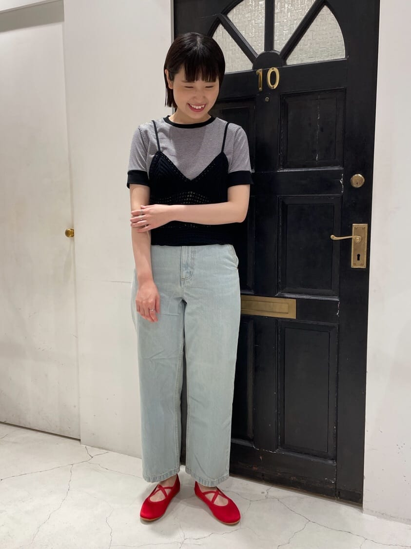 Dot and Stripes CHILD WOMAN ルクアイーレ 身長:165cm 2021.07.20