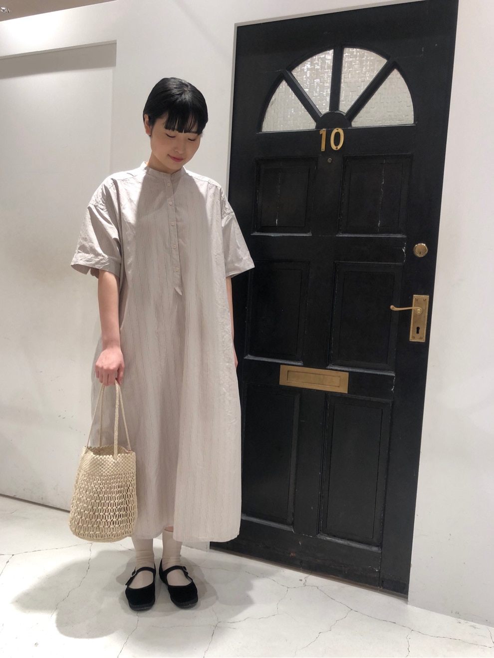 Dot and Stripes CHILD WOMAN ルクアイーレ 身長:165cm 2020.06.11