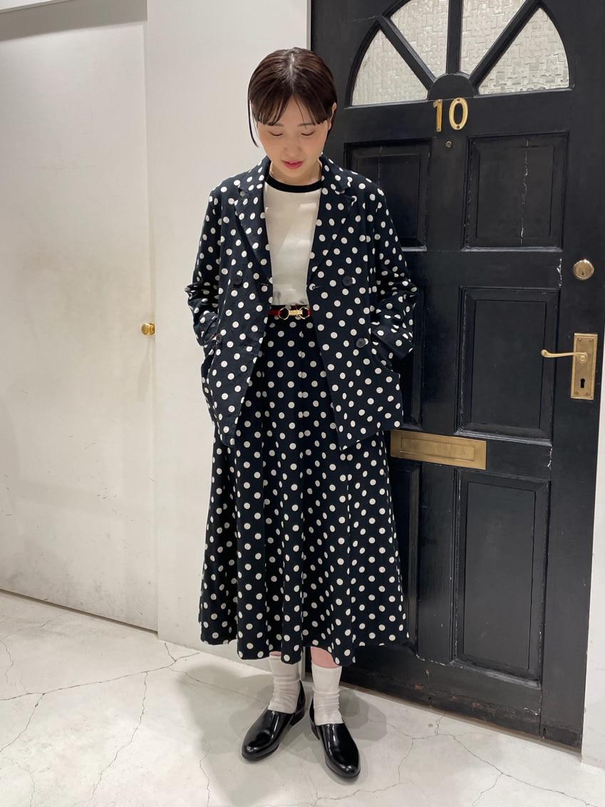 Dot and Stripes CHILD WOMAN ルクアイーレ 身長:165cm 2021.04.20
